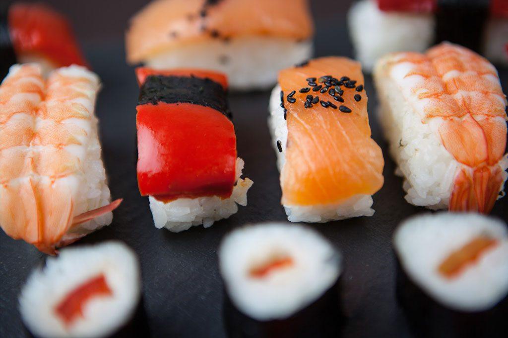 Sakana Sushi variedad de sushi