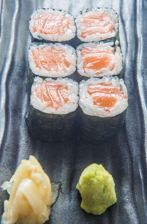 Sakana Sushi porciones de sushi